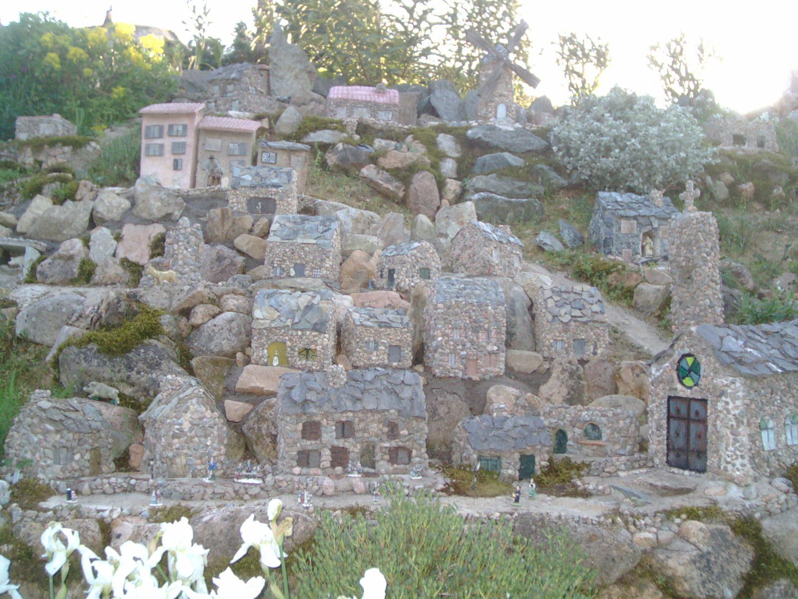village miniature corse et ese automates
