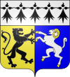 Blason et armoiries de Plon�our-Lanvern
