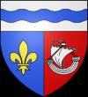 Blason et armoiries d`Asnières-sur-Seine