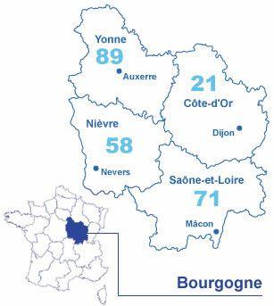 D partement de l 39 yonne 89 actuacity for Region yonne