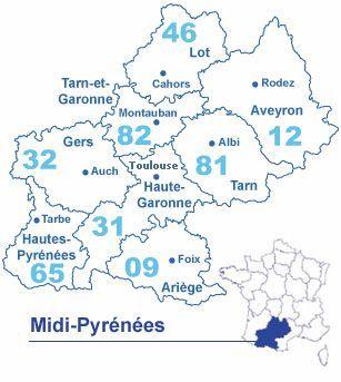 Les Midi-Pyrénées