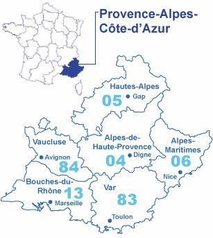 La Provence-Alpes-Côte d