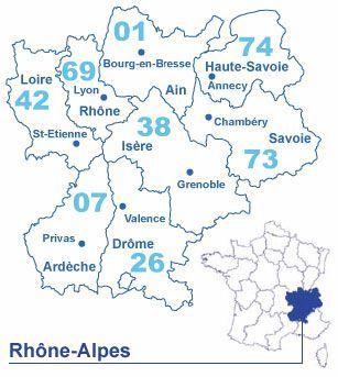 Le Rhône-Alpes